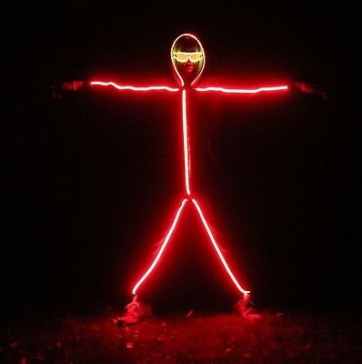 Halloween Costume Outfit - The LED StickMan