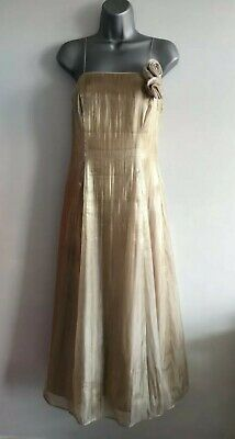 Debut Gold Formal Prom/Evening/Bridesmaid Dress Size 10