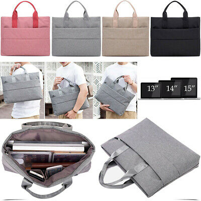 Laptop Sleeve Case Cover Shockproof Bag For MacBook HP Dell Lenovo 13 14 15 inch