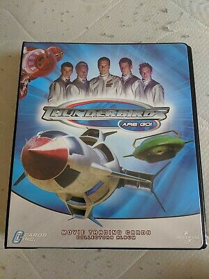 Thunderbirds are go official Trading Card Binder