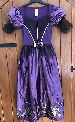 Girls Witch Costume Age 11-12. BNWOT