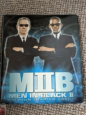 Men in black two official  Trading Card Binder