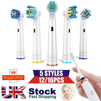 New Electric Toothbrush Heads Compatible With Oral B Braun Toothbrush Head Model