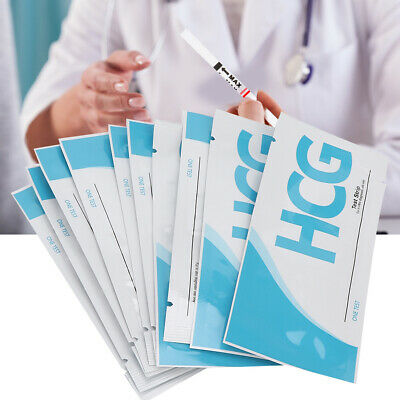 10x Early Pregnancy Test Strips Household Urine Testing Early Pregnancy Test KL