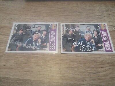Dr Who Signed Trading Cards