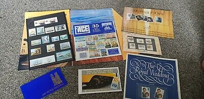 Mixture Of Stamp Packs collection royal mail royal family boats animals