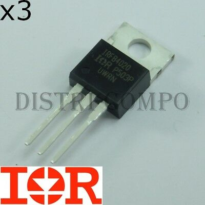 IRFB4227 International Rectifier MOSFET Transistor 200V 65A 330W 0,024R 856287