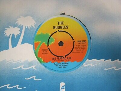 "Vinyl Record 7"" THE BUGGLES THE PLASTIC AGE (38)102"