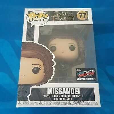 *Official* Nycc 2019 Funko Pop! Tv Game Of Thrones - Missandei Figure Got