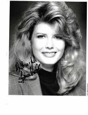 Fawn Hall - Secretary To Oliver North - Signed 8X10 B&W Photo