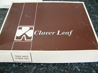 Vintage 6 small plus one Clover Leaf