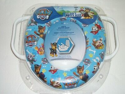 Awesome Nickelodeon Paw Patrol Toilet Training Seat Red Blue Easy To Ncnpc Chair Design For Home Ncnpcorg