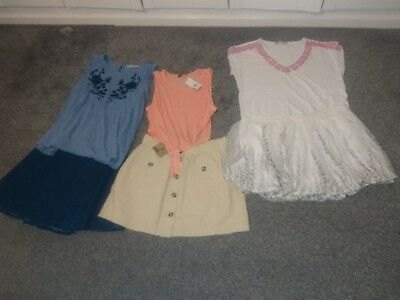 ladies bundle of summer clothes skirts, tops _ 6 items, size 14, 3 items brand n