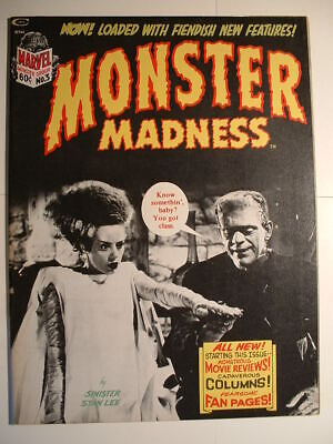 Monster Madness #3 - Marvel 1973 - Last Issue of Stan Lee Silliness!