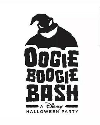2 E-Tickets Disneyland Oogie Boogie Bash Halloween Party 9/26 SOLD OUT
