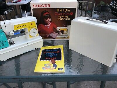 Singer Little Touch & Sew Sewing Machine Model 67-A -23 Wth Box