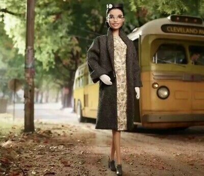 Barbie~ROSA PARKS Inspiring Women~NIB~2019 Black Label~In Hand & Ready To Ship!