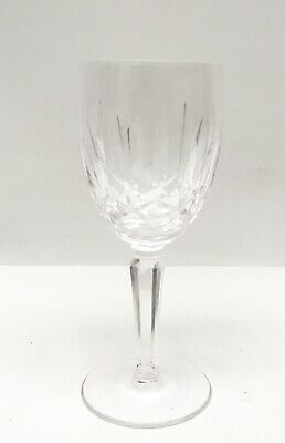 Waterford Crystal KILDARE Claret Wine Glass Older Engraved Mark 6 1/2""