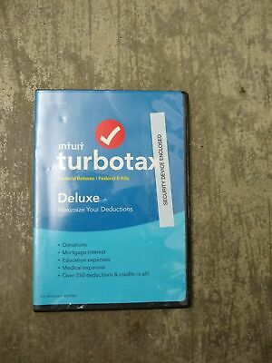 Intuit TurboTax Deluxe 2017 FEDERAL  + E-FILE FOR Windows+Mac USA