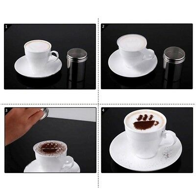Chocolate Cocoa Flour Icing Sugar Powdered Coffee Sieve Sifter  Sifter Shaker