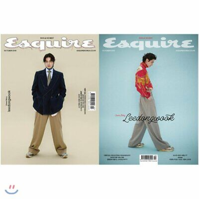 Lee Dong Wook (Cover Random) Whole Magazine/Esquire Korea/October 2019 Tracking