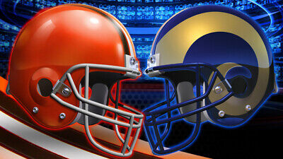 Los Angeles Rams vs Cleveland Browns 08/22 NR no reserve