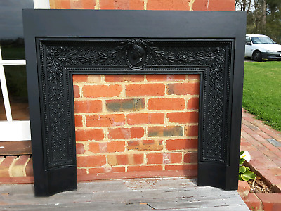 Fireplace surround  cast iron