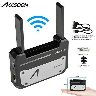 Accsoon CineEye 5G WiFi Wireless Video Image Transmitter HDMI for Android & iOS