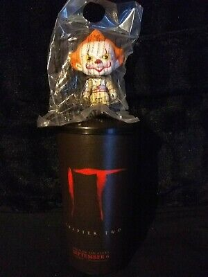 IT Chapter 2 theater cup with Pennywise bobble head topper *READ DESCRIPTION*
