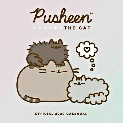 Pusheen 2020 Square Wall Calendar by Browntrout 30 x 30cm Free Post
