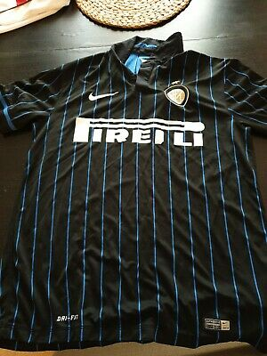 Inter milan football shirt away 2014/2015 Adult MEDIUM
