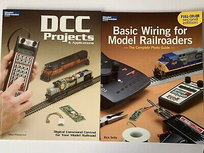 Model Railroader Wiring Books (x2) DCC Projects + Basic Wiring (Excellent)