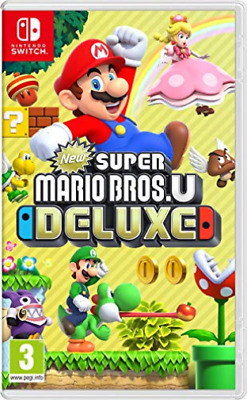 Switch-New Super Mario Bros. U Deluxe - It (Switch) GAME NEUF