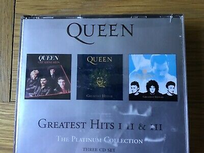 Queen greatest hits 1,2 & 3 three cd set