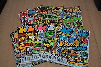 KZone Magazine Collection 16 Volumes - Free Postage