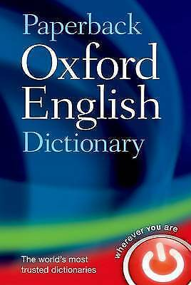 PAPERBACK OXFORD ENGLISH DICTIONARY 7E by Oxford Dictionaries New mini Book
