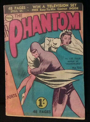 Frew Phantom Comic 48 page issue No 122 VG 1957  Bagged and boarded