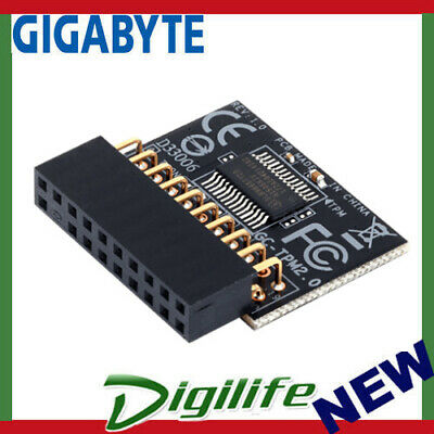 igabyte GC-TPM2.0 Trusted Platform Module for 100, 200, 8, 9, X99-serie, AM4,F2