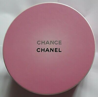 Chanel Chance Perfume Gift Hat Box - Pink - No Bottle of Perfume