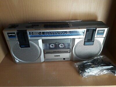 Philips Compact Line D8118 - Ghetto Blaster Stereo Boombox - FM/4 Band Receiver