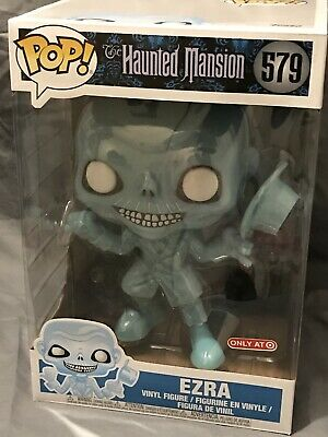 """Funko HAUNTED MANSION Target Exclusve 10"""" EZRA Figurine POP! SOLD OUT"""