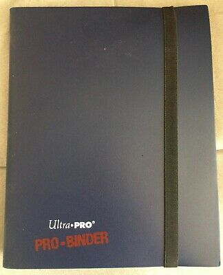 Ultra Pro Blue Binder With Lot Of Pokemon Cards Base To Neo