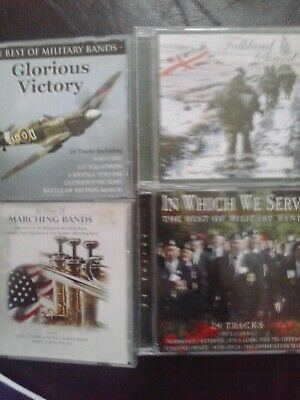 job lot military band cds