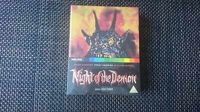Night of the Demon limited edition blu ray UK New & Sealed
