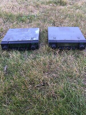 2 Voxson Classic Fiat Radios With Fixing Box