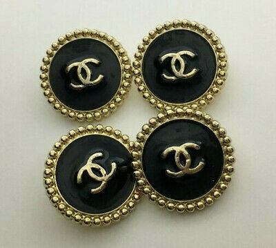 4 Chanel buttons, 20mm