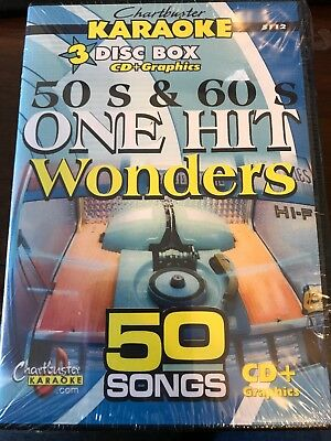Chartbuster Karaoke Cdg One Hit Wonders 5112