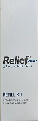 Philips Relief Acp Oral Care Gel- 4x Syringes Pack Relieves Tooth Sensitivity ✅