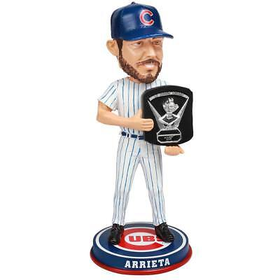 Jake Arrieta Chicago Cubs Cy Young (2015) Bobblehead MLB
