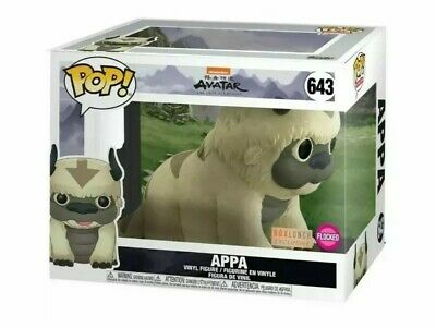FUNKO POP #643 FLOCKED APPA AVATAR LAST AIRBENDER BOX LUNCH Exclusive In Hand!